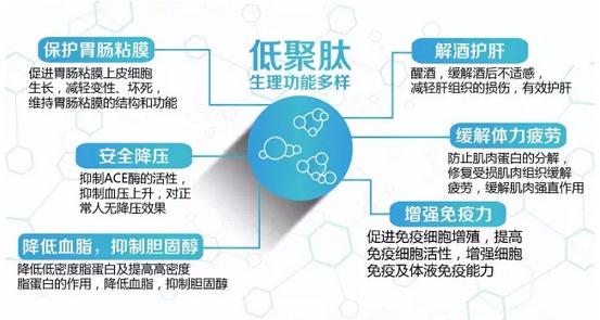 小分子肽对于43种不同疾病的调理治疗方案